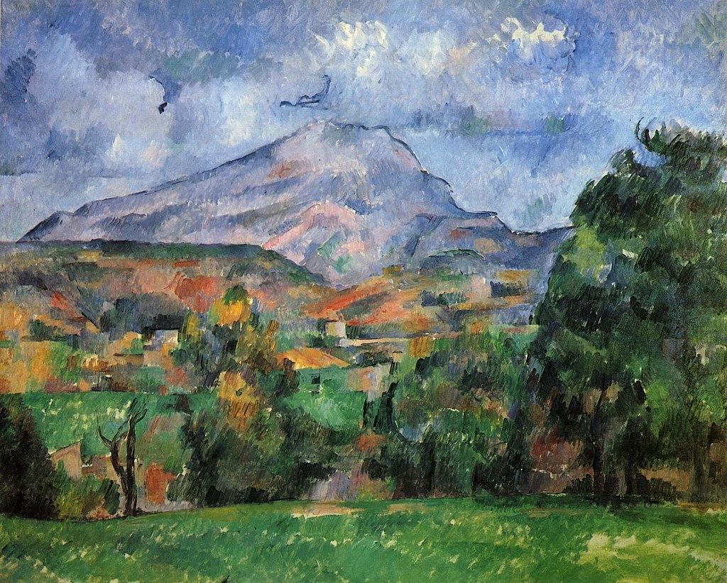 Góra Sainte-Victoire Paul Cezanne 1888-1890
