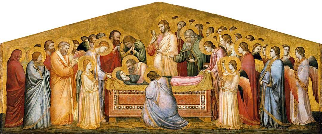 Giotto Złożenie Maryi do grobu