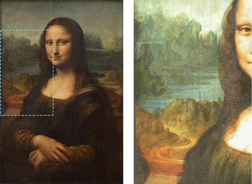 Mona Lisa - Leonardo i perspektywa powietrzna