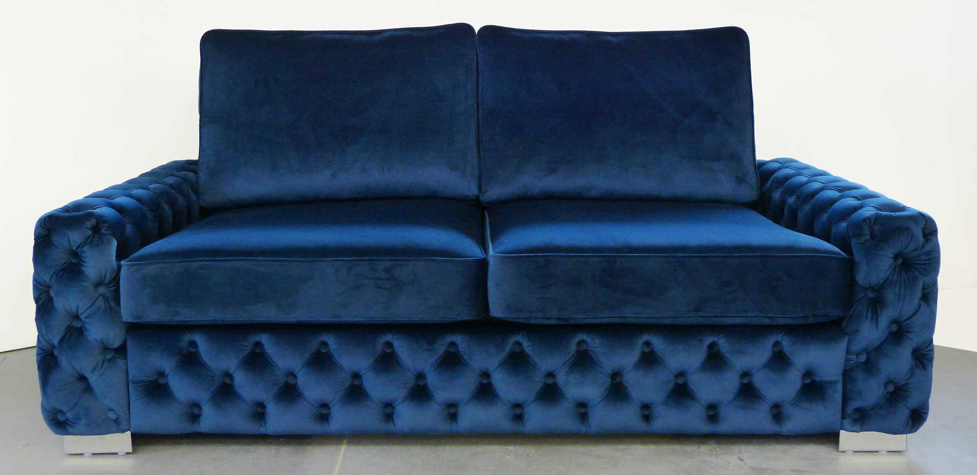 blu sofa
